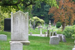 A cemetery similar to Laurel Hill.