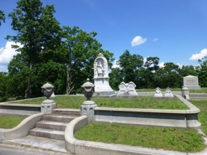 Jenny's grave from Laurel Hill Cemetery